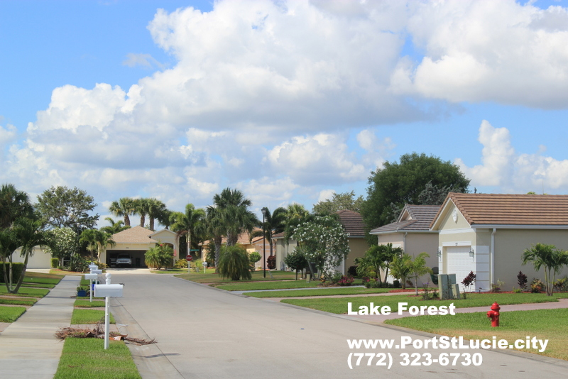 Lake Forest at St Lucie West Homes