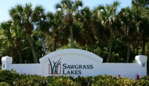 Homes Sawgrass lakes