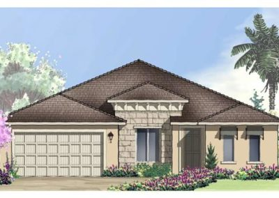 Tradition New Homes Space Coast Model